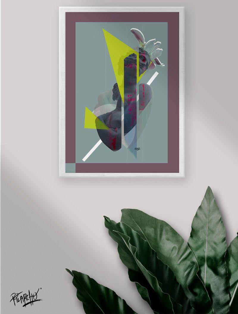 lamina collage experimental
