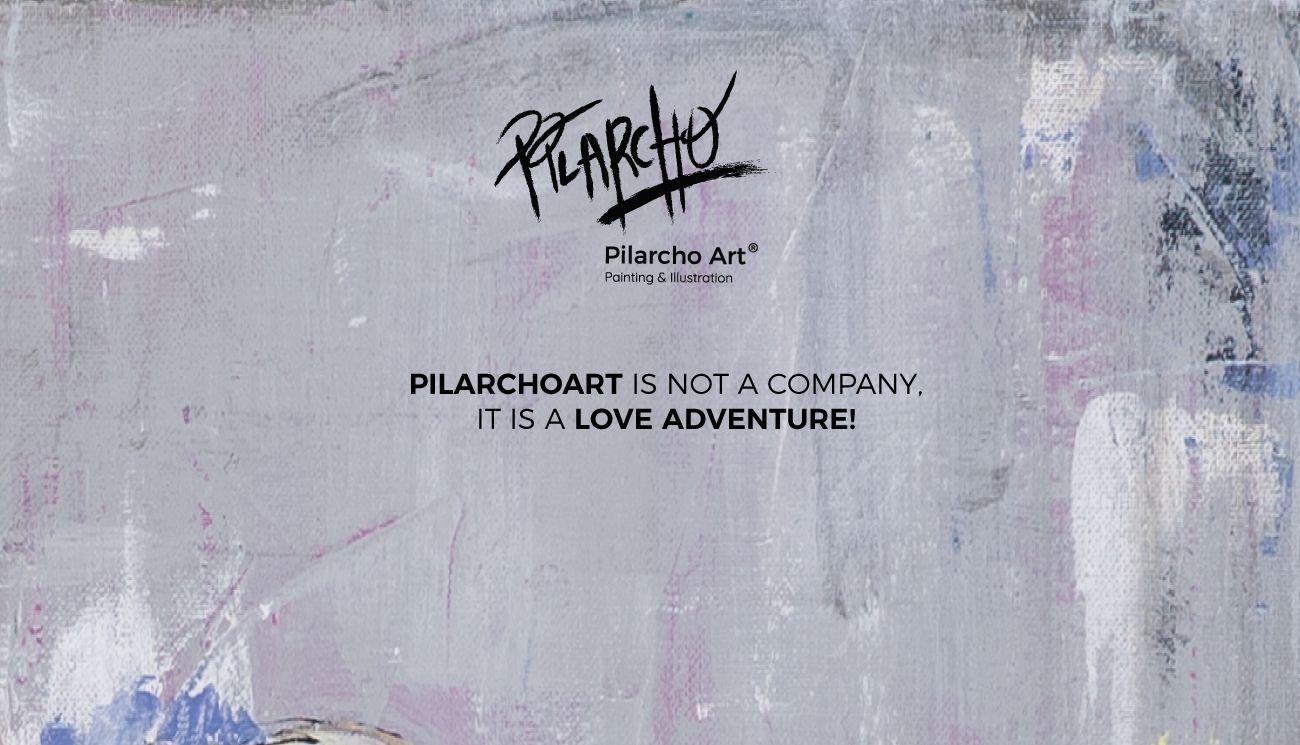 imagen que dice que pilarcho art no es una compañía, es una aventura amorosa