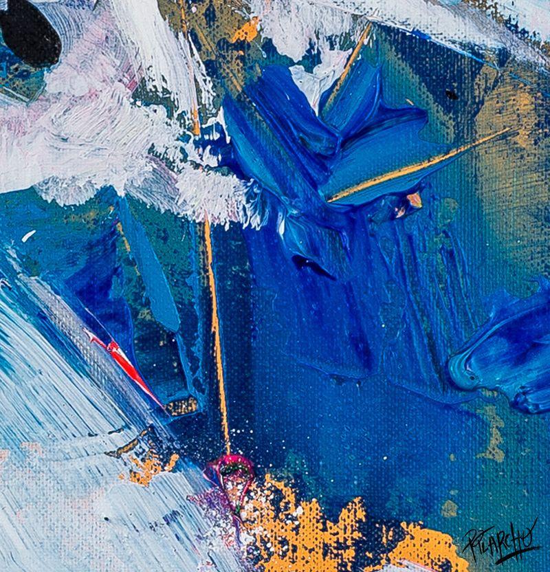 textura de amarillo, azul