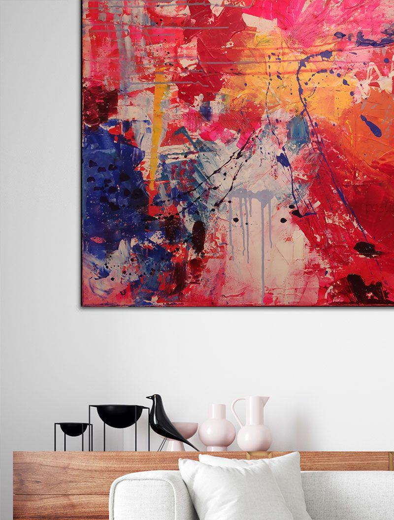 Pasiones, abstracto personalizado vendido