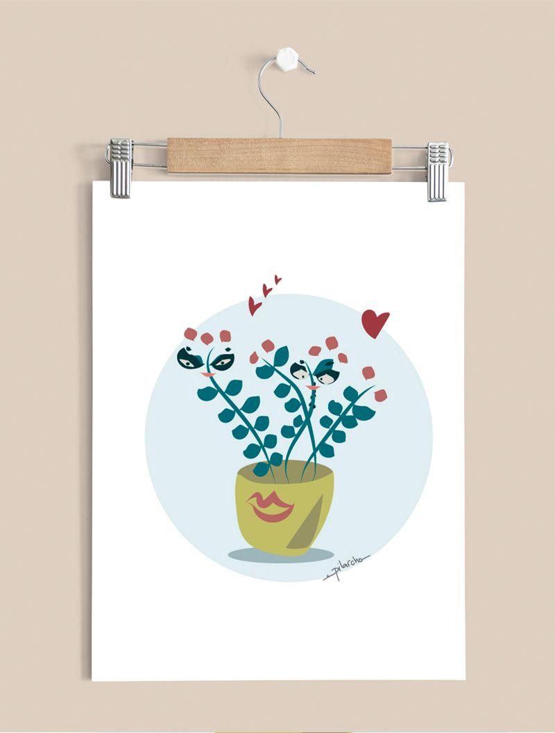 ilustración cactus